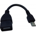 Regular USB 2.0 to micro USB Cable Μαύρο Esperanza 16634